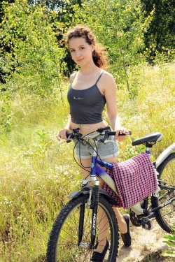Melissa Maz - Biking In Nature