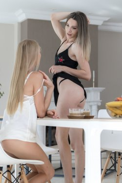 Lesbea - Nancy A, Adel Morel - Beauties Eating Pussy For Breakfast - 27 Oct, 2019, pic 3