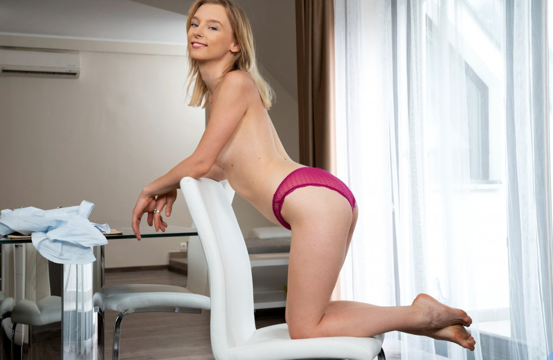 Nubiles - Candy Teen - Dining Table Touching - 14 Nov, 2019, pic 17